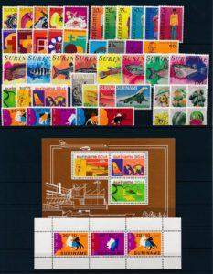 Suriname Onafhankelijk 1978 complete jaargang postzegels postfris