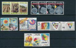 Aruba 1988 Complete jaargang postzegels postfris