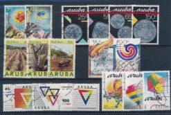 Aruba 1988 Complete jaargang postzegels gestempeld