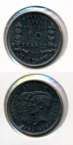 Belgie 1930 10 francs Leopold I Leopold II Albert