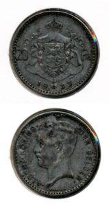 Belgie 1933 20 francs vlaams Albert