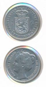 Nederland 1904 0,5 Gulden Wilhelmina
