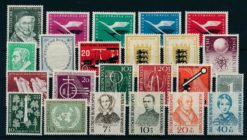 Duitsland Bondsrepubliek 1955 Complete jaargang postzegels postfris