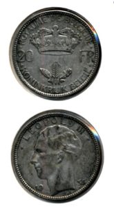 Belgie 1935 20 francs vlaams Leopold III