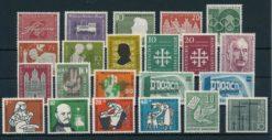 Duitsland Bondsrepubliek 1956 Complete jaargang postzegels postfris