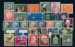 Duitsland Bondsrepubliek 1957 Complete jaargang postzegels postfris