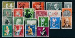 Duitsland Bondsrepubliek 1958 Complete jaargang postzegels postfris