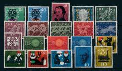 Duitsland Bondsrepubliek 1960 Complete jaargang postzegels postfris