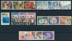 Aruba 1989 Complete jaargang postzegels postfris