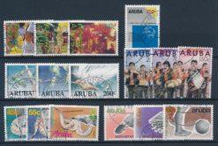Aruba 1989 Complete jaargang postzegels gestempeld