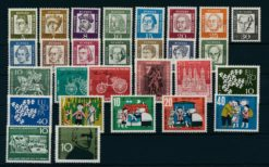 Duitsland Bondsrepubliek 1961 Complete jaargang postzegels postfris