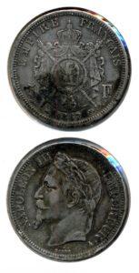 Frankrijk 1867 5 francs