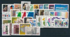 Duitsland Bondsrepubliek 1980 complete jaargang postzegels postfris