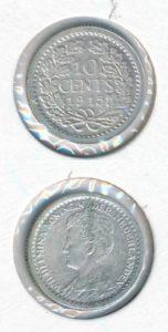 Nederland 1915 10 cent Wilhelmina