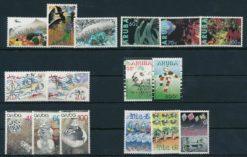 Aruba 1990 Complete jaargang postzegels postfris