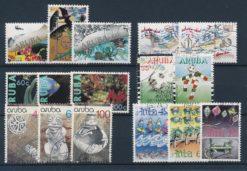 Aruba 1990 Complete jaargang postzegels gestempeld