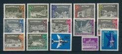 Duitsland Berlijn 1962-1963 Complete jaargang postzegels postfris
