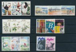 Aruba 1991 Complete jaargang postzegels postfris