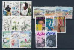 Aruba 1991 Complete jaargang postzegels gestempeld