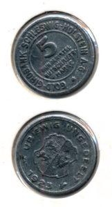 Duitsland 1923 5 mark