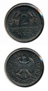 Duitsland 1951 F 2 mark