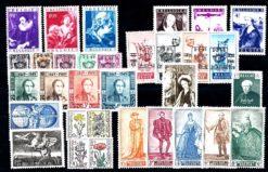 Belgie 1949 Complete jaargang postzegels postfris
