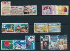 Aruba 1992 Complete jaargang postzegels postfris