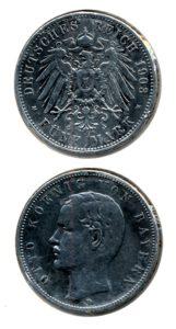 Duitsland 1903 D 5 mark