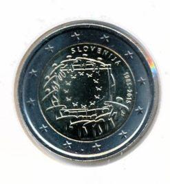 Slovenie 2015 2 Euro Vlag