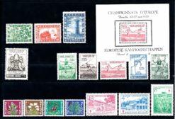 Belgie 1950 Complete jaargang postzegels postfris