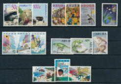 Aruba 1993 Complete jaargang postzegels postfris