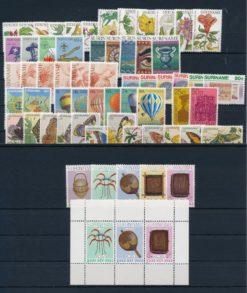 Suriname Onafhankelijk 1983 complete jaargang postzegels postfris