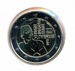 Slovenie 2011 2 Euro Rozman