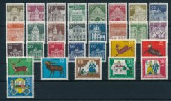 Duitsland Berlijn 1966 Complete jaargang postzegels postfris