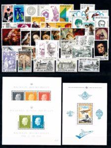 Belgie 1976 Complete jaargang postzegels postfris