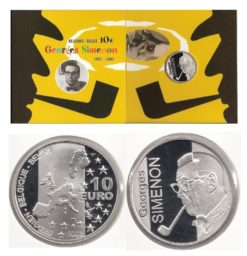 Belgie 2003 10 Euro Georges Simenon