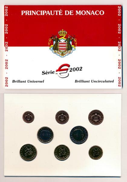 55057 Monaco 2002 BU Set