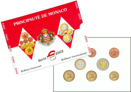 Monaco 2002 BU set 1