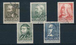 Nederland 1939 Zomerzegels  NVPH 318-22
