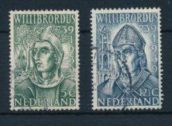 Nederland 1939 Willibrordus  NVPH 323-24