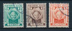 Nederland 1924 Kinderzegels  NVPH 141-43