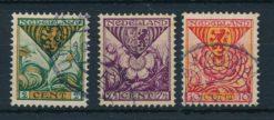 Nederland 1925 Kinderzegels provinciewapens  NVPH 166-68