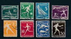 Nederland 1928 Olympiade Amsterdam   NVPH 212-19