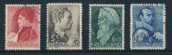 Nederland 1935 Zomerzegels  NVPH 274-77