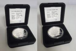 Aruba 1995 25 Florin zilver in doosje