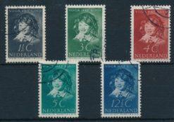 Nederland 1937 Kinderzegels  NVPH 300-04