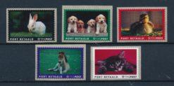 Nederland 2005 Port Betaald zegels Huisdieren NVPH BZ17 - BZ21