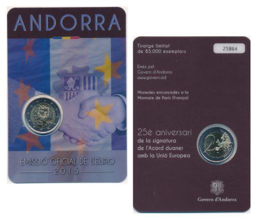 57426 Andorra 2015 Douane Coincard