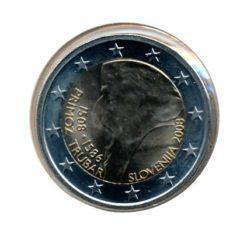 Slovenie 2008 2 Euro Trubar