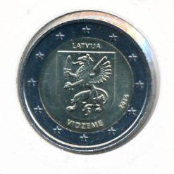 Letland 2016 2 Euro Vidzeme